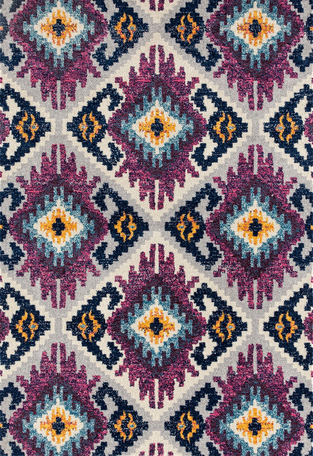 United Weavers  Abigail  Willa  713 21482  Plum  Area Rug