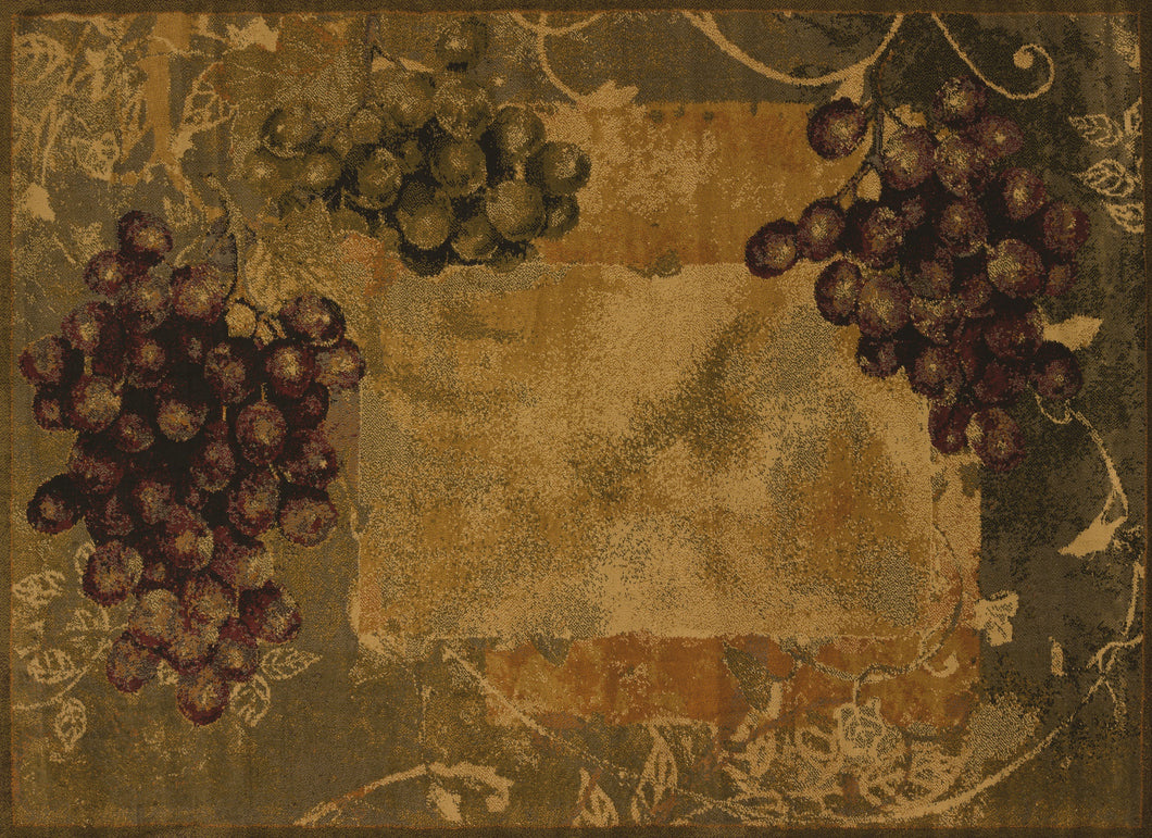 United Weavers  Affinity  Vineyard  750 01745  Green  Area Rug
