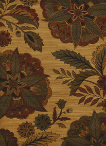 United Weavers  Affinity  Embroided Floral  Multi  Area Rug