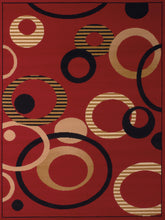 United Weavers  Dallas  Hip Hop  851 10430  Red  Area Rug
