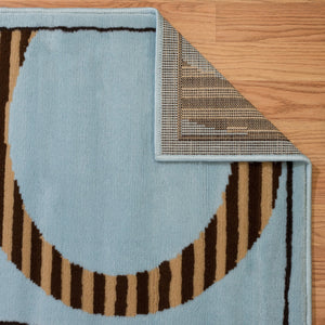 United Weavers  Dallas  Hip Hop  851 10460  Blue  Area Rug