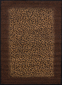 United Weavers  Legends  Leopard Skin  910 04050  Multi  Area Rug