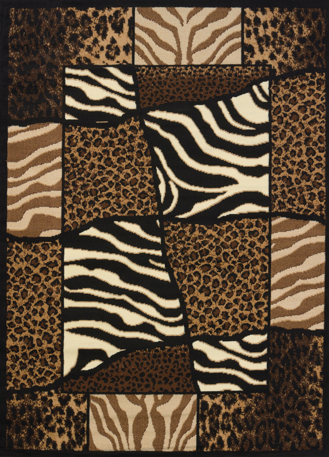 United Weavers  Legends  African Montage  910 04450  Multi  Area Rug