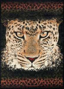 United Weavers  Legends  Leopard Eyes  910 05430  Multi  Area Rug