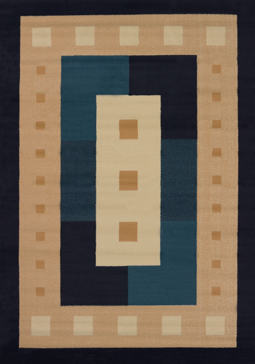 United Weavers  Manhattan  Time Square  940 36864  Navy  Area Rug