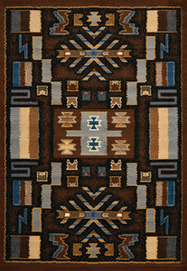 United Weavers  Manhattan  Pelham  940 38550  Brown  Area Rug