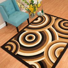United Weavers  Café  Cappuccino  Brown  Area Rug