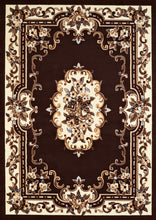 United Weavers  Café  Demitasse  950 10655  Dark Brown  Area Rug