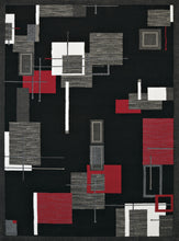 United Weavers  Café  Barista  950 10730  Red  Area Rug