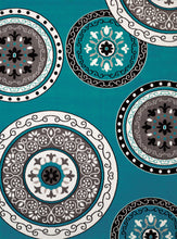 United Weavers  Café  Cozy  950 11063  Aqua  Area Rug