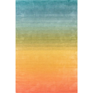 Liora Manne Arca 9206/44 Ombre Rainbow Area Rug by Trans Ocean