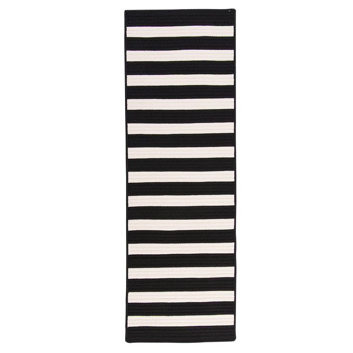 Colonial Mills Aniston Runner AN59 Black  Area Rug