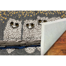 Liora Manne Frontporch 1443/47 Owls Night Area Rug by Trans Ocean