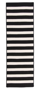 Colonial Mills Bayamo Runner  BY29 Black  Area Rug