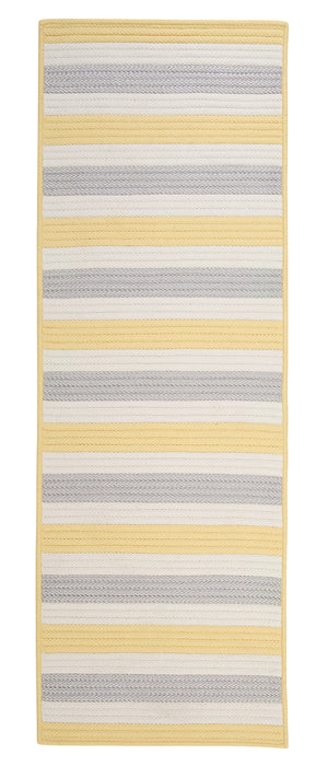 Colonial Mills Bayamo Runner  BY39 Yellow  Area Rug