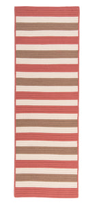 Colonial Mills Bayamo Runner  BY99 Red  Area Rug