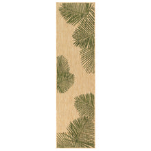 Liora Manne Carmel 8439/06 Palm Green Area Rug by Trans Ocean