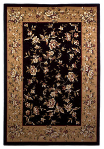 KAS Cambridge 7336 Black/Beige  Area Rugs