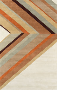 Novogratz Delmar DEL-5 Brown Area Rug By Momeni