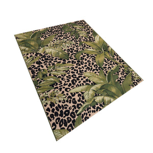 Liora Manne Marina 8056/06 Safari Green Area Rug by Trans Ocean