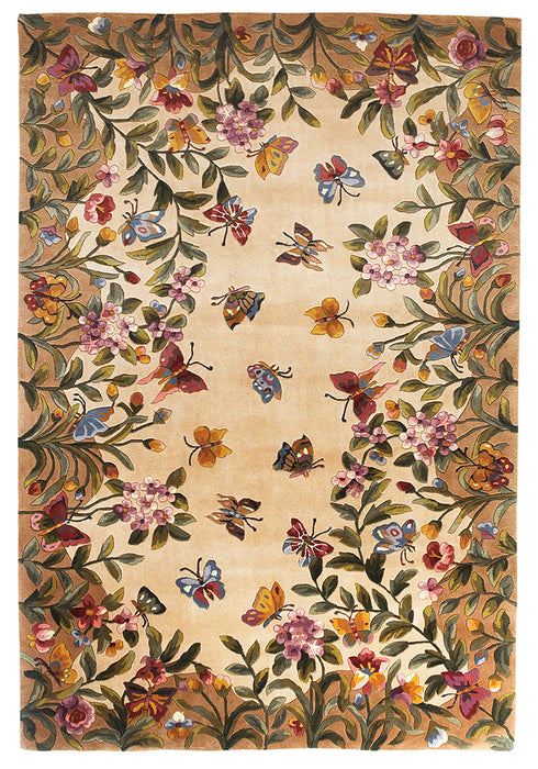 KAS Emerald 9019 Antique Beige Area Rug