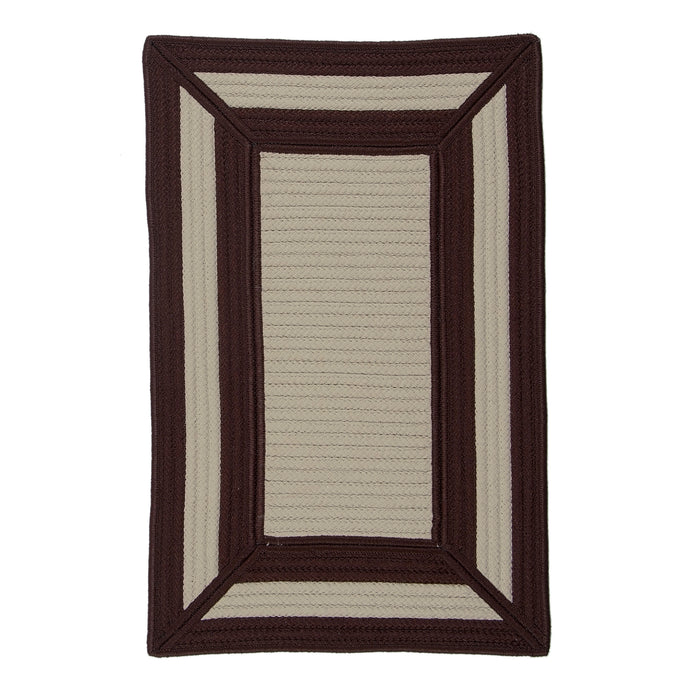 Colonial Mills Afra  FR05 Brown  Area Rug