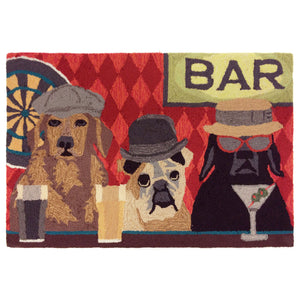 Liora Manne Frontporch 1809/37 Bar Patrol Port Area Rug by Trans Ocean