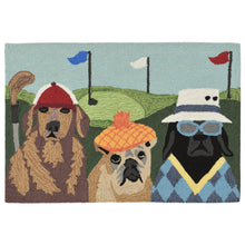 Liora Manne Frontporch 2418/44 Putts & Mutts Multi Area Rug by Trans Ocean