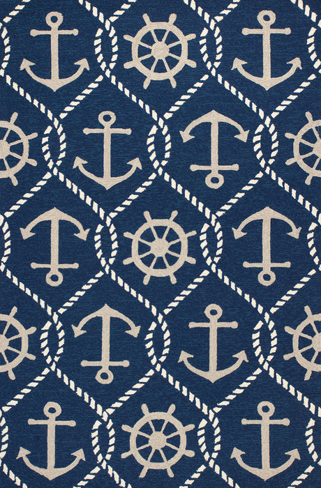 KAS Harbor 4220 Navy Area Rugs