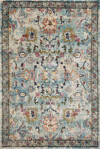 KAS Hue 4705 Lt Blue Area Rugs