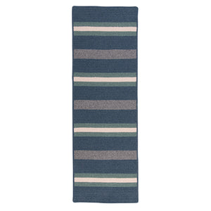 Colonial Mills Elmdale Runner  MD59 Blue  Area Rug