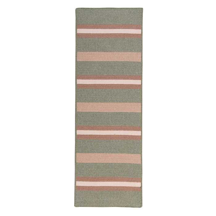 Colonial Mills Elmdale Runner  MD69 Palm  Area Rug