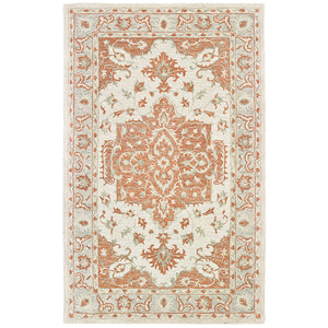 LR Home Modern Tradition MODTR81287 Sunrise Medallion Area Rug