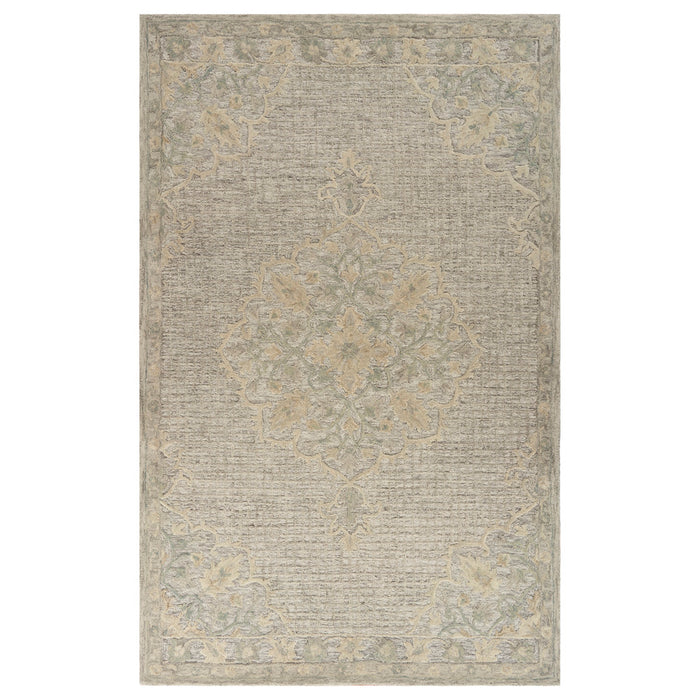 LR Home Modern Tradition MODTR81290 Floral Medallion Area Rug