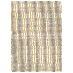 LR Home Natural Fiber NATUR03311 Indigo Stitching Natural Jute Area Rug