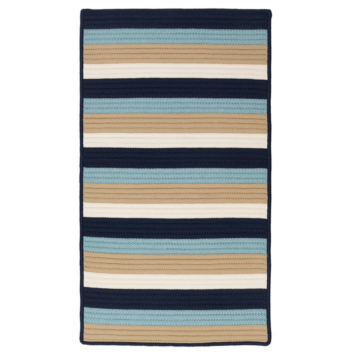 Colonial Mills Norwood  NW25 Navy Blue  Area Rug