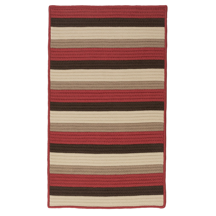 Colonial Mills Norwood  NW45 Red Brown  Area Rug