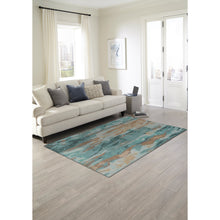 Liora Manne Corsica 9144/06 Waterfall Patina Area Rug by Trans Ocean