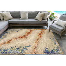Liora Manne Visions IV 4126/12 Elements Sand Area Rug by Trans Ocean