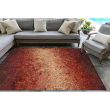 Liora Manne Visions V 3257/24 Arch Tile Red Area Rug by Trans Ocean