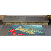 Liora Manne Frontporch 1431/04 Sea Turtle Ocean Area Rug by Trans Ocean