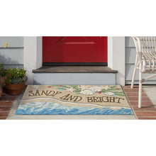 Liora Manne Frontporch 2422/12 Sandy & Bright Sand Area Rug by Trans Ocean