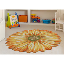 Liora Manne Frontporch 1417/09 Sunflower Yellow Area Rug by Trans Ocean