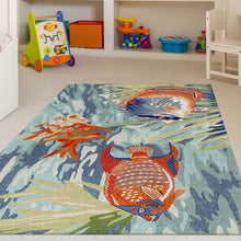 Liora Manne Ravella 2255/04 Tropical Fish Ocean Area Rug by Trans Ocean
