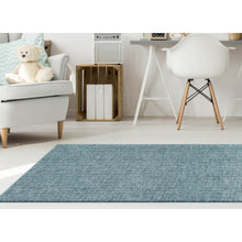 Liora Manne Savannah 9503/03 Fantasy Blue Area Rug by Trans Ocean