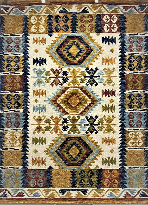 LR Home TM Wool RUGSA99981IVO Area Rug
