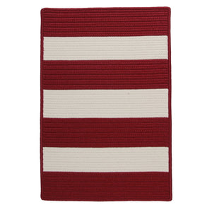 Colonial Mills Pershing  PG74 Red  Area Rug