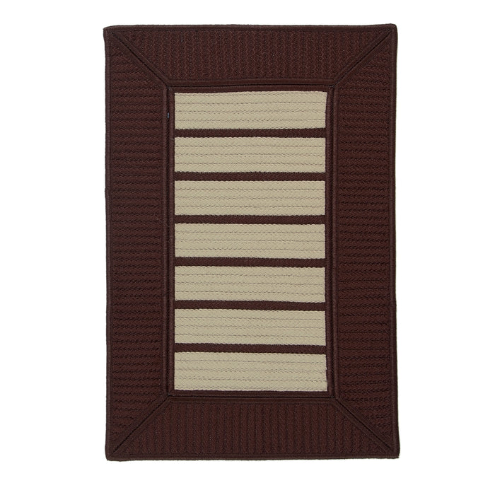 Colonial Mills Vizima  VZ65 Brown  Area Rug