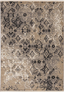 KAS Westerly 7653 Ivory/Beige Area Rug