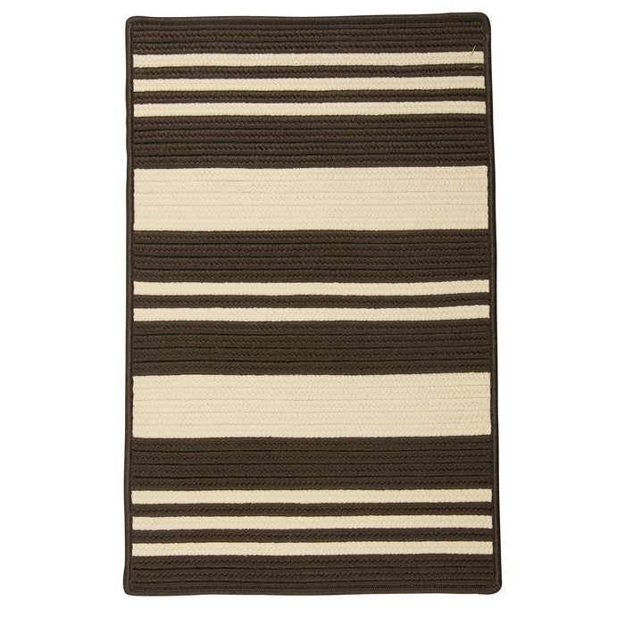 Colonial Mills Bayou  YU82 Brown  Area Rug
